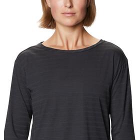 Mountain Hardwear Everyday Perfect 3/4 T-shirt Dames, dark storm